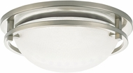 Seagull 75115EN-962 Eternity Modern Brushed Nickel LED Ceiling Light Fixture