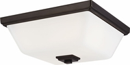 Seagull 7513702EN3-778 Ellis Harper Modern Brushed Oil Rubbed Bronze LED Overhead Lighting Fixture