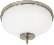 Seagull 75180EN-965 Montreal Antique Brushed Nickel LED Flush Mount Light Fixture