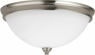 Seagull 75520EN-962 Parkfield Brushed Nickel LED Flush Mount Lighting Fixture