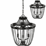 Seagull 7710103EN-846 Kelvyn Park Contemporary Stardust LED Pendant Lighting / Ceiling Lighting