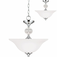 Seagull 7713402EN-05 Englehorn Chrome LED Pendant Lamp / Ceiling Lighting Fixture