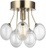 Seagull 7714301-848 Bronzeville Modern Satin Brass Ceiling Lighting