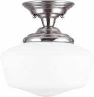 Seagull Academy Brushed Nickel Home Ceiling Lighting