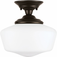 Seagull 77436EN-782 Academy Heirloom Bronze LED Ceiling Light Fixture