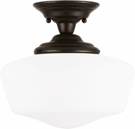 Seagull Academy Heirloom Bronze Overhead Lighting Fixture