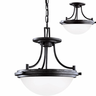 Seagull 77660EN-839 Winnetka Blacksmith LED Lighting Pendant / Flush Lighting