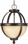 Seagull 7790402-715 Sfera Contemporary Autumn Bronze Ceiling Light Pendant