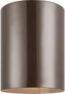 Seagull 7813897S-10 Outdoor Cylinders Contemporary Bronze LED Outdoor Home Ceiling Lighting
