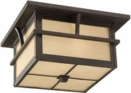 Seagull 78880-51 Medford Lakes Mission Statuary Bronze Exterior Ceiling Lighting