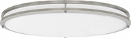 Seagull 7950893S-962 Mahone Modern Brushed Nickel LED Home Ceiling Lighting