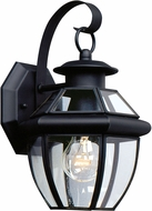 Seagull 8037-12 Lancaster Traditional Black Outdoor Wall Mounted Lamp