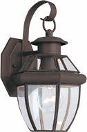 Seagull 8037-71 Lancaster Traditional Antique Bronze Exterior Wall Light Sconce