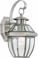 Seagull 8037-965 Lancaster Traditional Antique Brushed Nickel Outdoor Wall Lighting Fixture