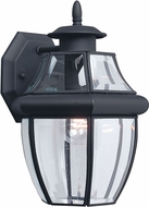 Seagull 8038-12 Lancaster Traditional Black Outdoor Wall Sconce Light