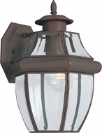 Seagull 8038-71 Lancaster Traditional Antique Bronze Exterior Wall Sconce