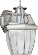 Seagull 8038-965 Lancaster Traditional Antique Brushed Nickel Outdoor Wall Lamp