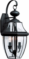 Seagull 8039-12 Lancaster Traditional Black Outdoor Sconce Lighting