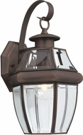 Seagull 8067-71 Lancaster Traditional Antique Bronze Exterior Sconce Lighting