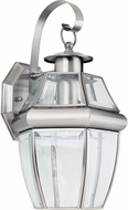 Seagull 8067-965 Lancaster Traditional Antique Brushed Nickel Outdoor Light Sconce