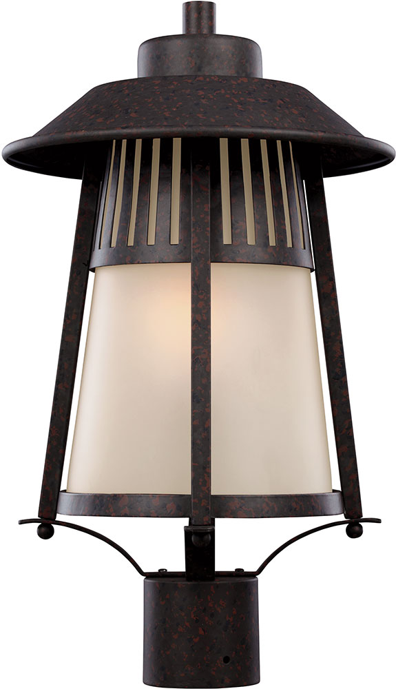 Seagull 8211701en 746 Hamilton Heights Oxford Bronze Led Exterior Post Lighting Loading Zoom