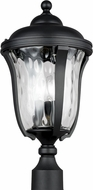 Seagull 8214203EN-12 Perrywood Traditional Black LED Outdoor Post Lamp