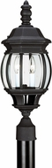 Seagull 82200-12 Wynfield Traditional Black Exterior Lamp Post Light