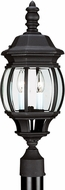 Seagull 82200EN-12 Wynfield Traditional Black LED Outdoor Post Light