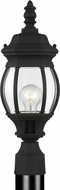 Seagull 82202-12 Wynfield Traditional Black Exterior Lighting Post Light