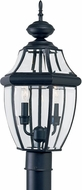 Seagull 8229-12 Lancaster Traditional Black Outdoor Post Light Fixture