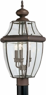 Seagull 8239-71 Lancaster Traditional Antique Bronze Outdoor Post Light