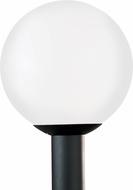 Seagull 8252EN3-68 Outdoor Globe Contemporary White Plastic LED Exterior Post Lighting