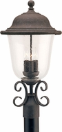 Seagull 8259-46 Trafalgar Traditional Oxidized Bronze Outdoor Post Light