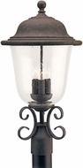 Seagull 8259EN-46 Trafalgar Traditional Oxidized Bronze LED Exterior Lighting Post Light