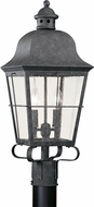Seagull 8262-46 Chatham Traditional Oxidized Bronze Exterior Post Lighting Fixture