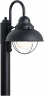 Seagull 8269-12 Sebring Retro Black Exterior Post Light Fixture