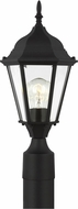 Seagull 82938-12 Bakersville Traditional Black Outdoor Post Light