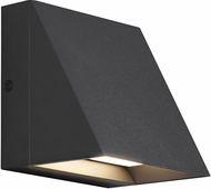 Seagull 8301493S-12 NON/CAT Items Contemporary Black LED Exterior Lighting Sconce