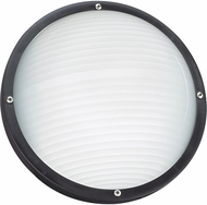 Seagull 83057-12 Bayside Modern Black Outdoor Wall Sconce Light