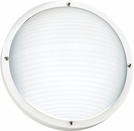 Seagull 83057-15 Bayside Modern White Exterior Wall Sconce