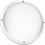 Seagull 83057EN3-15 Bayside Contemporary White LED Exterior Wall Lighting