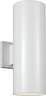 Seagull 8313802EN3-15 Outdoor Cylinders Modern White LED Exterior 14.25 Wall Lighting Sconce