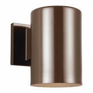 Seagull Outdoor Bullets Contemporary Bronze Exterior Wall Lamp