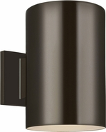 Seagull 8313901EN3-10 Outdoor Cylinders Modern Bronze LED Exterior 9 Wall Lamp