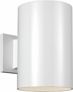 Seagull 8313901EN3-15 Outdoor Cylinders Modern White LED Outdoor 9 Wall Lighting