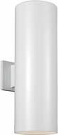 Seagull 8413997S-15 Outdoor Cylinders Modern White LED Outdoor 18.25 Wall Lamp
