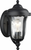 Seagull 8414201-12 Perrywood Black Outdoor Extra Small Lighting Sconce