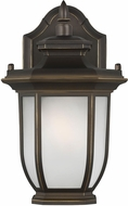 Seagull 8436301EN3-71 Childress Traditional Antique Bronze LED Outdoor Sconce Lighting