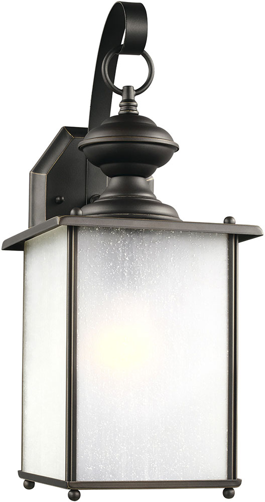 Seagull 84580en3 71 Jamestowne Antique Bronze Led Outdoor