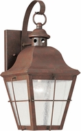 Seagull 8462-44 Chatham Traditional Weathered Copper Exterior 14.5 Light Sconce